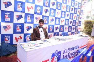KIEC Pulchowk Counselor Bhuwan Bhandari