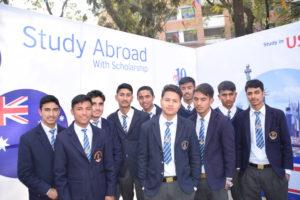 KIEC Pulchowk Sainik Awasiya students group pose