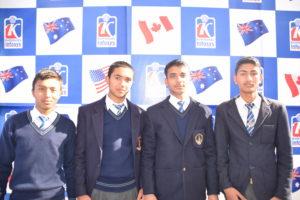 KIEC Pulchowk Sainik Awasiya students pose