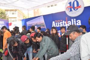 KIEC Pulchowk Students from WRC demonstrating