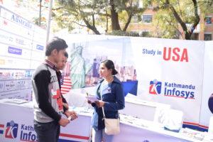 KIEC Pulchowk Study in USA Backdrop