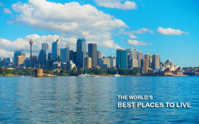 Why is Australia the best place to live in?