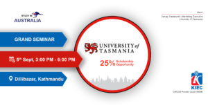UTAS event(5th sept)
